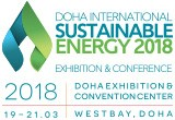 DOHA INTERNATIONAL SUSTAINABLE ENERGY 2018 Exhibition & Conference